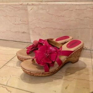 So Cute Pink Floral Sandals